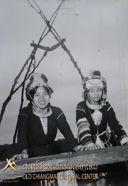 Akha hill tribe girls, Chiang Mai